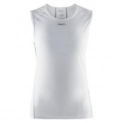 Craft Koszulka Termoaktywna Scampolo Mesh Superlight W, L, White. Białe koszulki sportowe damskie Craft, z materiału, na ramiączkach. Za 145.00 zł.