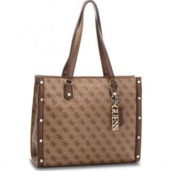 Torebka GUESS - HWSG69 91230 BRO. Brązowe torebki do ręki damskie Guess, z aplikacjami, ze skóry ekologicznej. Za 649.00 zł.