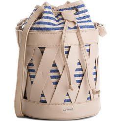 Torebka MONNARI - BAG5430-015 Beige. Brązowe torebki do ręki damskie Monnari, z materiału. W wyprzedaży za 129.00 zł.