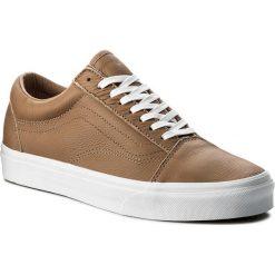 Tenisówki VANS - Old Skool VN0A38G1R0S (Leather) Tawny Brown/True White. Brązowe trampki męskie Vans, z gumy. W wyprzedaży za 279.00 zł.