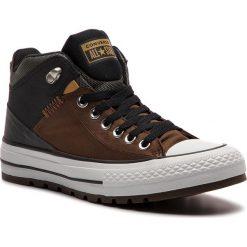 Trampki CONVERSE - Ctas Street Boot Hi 161469C Chestnut Brown/Black. Brązowe trampki męskie Converse, z gumy. W wyprzedaży za 269.00 zł.