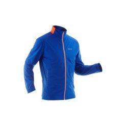 Bluza narciarska XC S 500 męska. Niebieskie bluzy męskie INOVIK, z elastanu. Za 149.99 zł.
