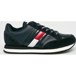 Tommy Jeans - Buty. Czarne obuwie sportowe damskie Tommy Jeans, z jeansu. W wyprzedaży za 349.90 zł.