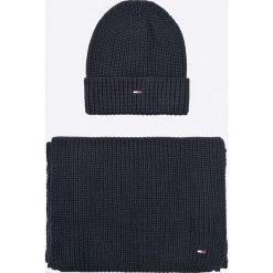 Hilfiger Denim - Czapka i szalik. Czapki i kapelusze męskie Hilfiger Denim. W wyprzedaży za 259.90 zł.