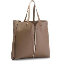 Torebka JENNY FAIRY - RC15344 Taupe. Brązowe torebki do ręki damskie Jenny Fairy, ze skóry ekologicznej. W wyprzedaży za 69.99 zł.