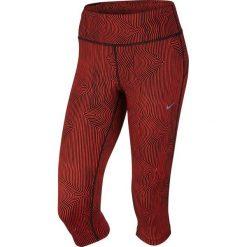Nike Legginsy Zen Epic Run Capri czerwony r. M (719809 696). Legginsy damskie marki DOMYOS. Za 205.34 zł.