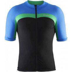 Craft Koszulka Rowerowa Velo Black Blue L. Czarne koszulki sportowe męskie Craft. W wyprzedaży za 153.00 zł.