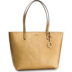 Torebka LAUREN RALPH LAUREN - Merrimack 431742101005 Deep Bronz. Żółte torebki do ręki damskie Lauren Ralph Lauren, ze skóry ekologicznej. Za 779.00 zł.