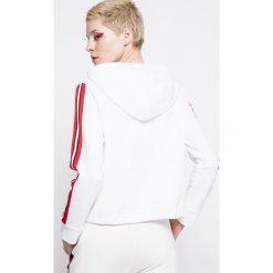 Answear - Bluza Sporty Fusion. Szare bluzy damskie ANSWEAR, z bawełny. W wyprzedaży za 69.90 zł.