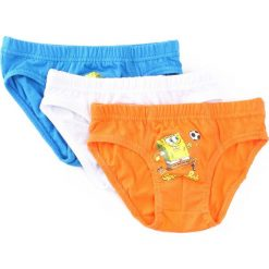 3-pack Niebiesko-Pomarańczowe Majtki Know Time. Brązowe bielizna dla chłopców Born2be. Za 24.99 zł.
