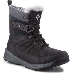Śniegowce COLUMBIA - Meadows Shorty Omni-Heat 3D BL5966 Black/Steam 010. Czarne kozaki damskie Columbia, z materiału. W wyprzedaży za 349.00 zł.