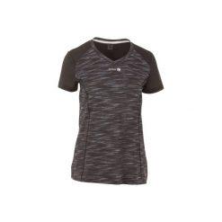 Koszulka tenisowa Soft 500 damska. Czarne t-shirty damskie ARTENGO, z meshu. W wyprzedaży za 24.99 zł.