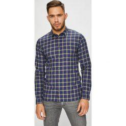 Tommy Jeans - Koszula. Szare koszule męskie Tommy Jeans, w kratkę, z bawełny, z klasycznym kołnierzykiem, z długim rękawem. Za 299.90 zł.