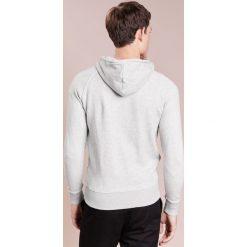 Ron Dorff DISCIPLINE SMALL PRINT ZIPPED HOODIE Bluza rozpinana grey melange. Kardigany męskie Ron Dorff, z bawełny. Za 669.00 zł.