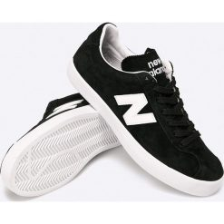 New Balance - Buty. Szare buty sportowe męskie New Balance, z gumy. W wyprzedaży za 179.90 zł.