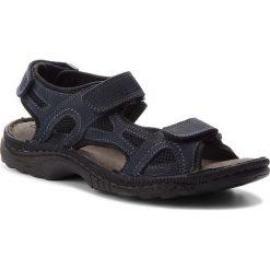 Sandały LASOCKI FOR MEN - MI20-TIS-01 Granatowy. Sandały męskie marki Wojas. W wyprzedaży za 99.99 zł.