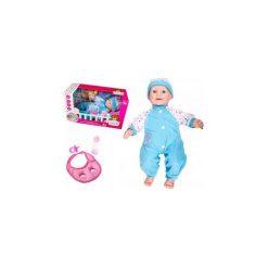 Lalka Interaktywna Baby Bobas 46cm + Akcesoria Y34. Szare śliniaki dla dzieci ElektroStator, z materiału. Za 59.00 zł.