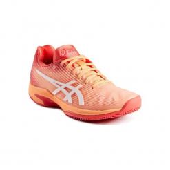 Buty tenisowe Asics Solution Speed Clay damskie na mączkę ceglaną. Różowe obuwie sportowe damskie Asics. Za 449.99 zł.