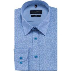 Koszula SIMONE slim KDNS000447. Niebieskie koszule męskie Giacomo Conti, z bawełny, z klasycznym kołnierzykiem. Za 169.00 zł.