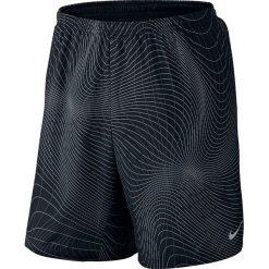 """Nike Spodenki męskie 7"""" Distance Printed Short czarne r. L (717966-011). Krótkie spodenki sportowe męskie marki bonprix. Za 175.00 zł."""