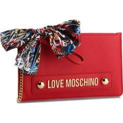 Torebka LOVE MOSCHINO - JC4124PP16LV0500  Rosso. Czerwone torebki do ręki damskie Love Moschino, ze skóry ekologicznej. Za 589.00 zł.