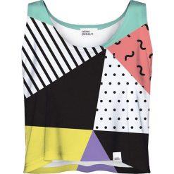 Colour Pleasure Koszulka damska CP-035 24 biało-czarna r. XS-S. Bluzki damskie marki Colour Pleasure. Za 64.14 zł.
