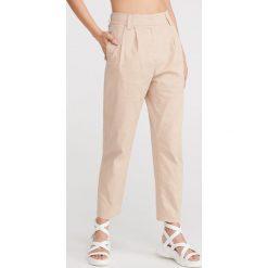 578fc7c0 Spodnie damskie materiałowe proste nogawki - Spodnie materiałowe ...