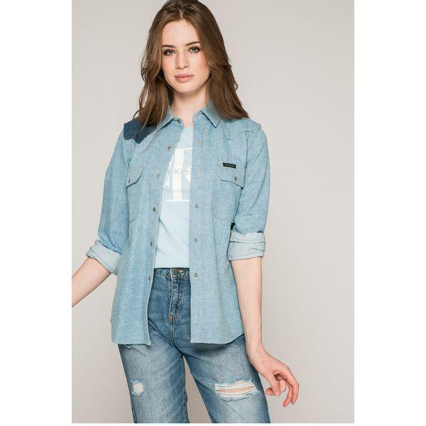 b1a992791 Calvin Klein Jeans - Koszula - Koszule damskie . W wyprzedaży za ...
