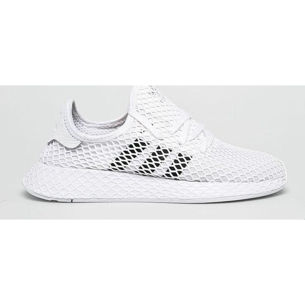 Buty Adidas DEERUPT RUNNER J białe sneakersy obuwie