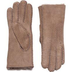 Emu - Rękawiczki Beech Forest. Czerwone rękawiczki damskie Emu Australia, ze skóry. W wyprzedaży za 299.90 zł.