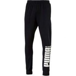 Puma Rebel Bold Pants Fl Cotton Black L. Czarne spodnie sportowe męskie Puma, z dresówki. Za 195.00 zł.