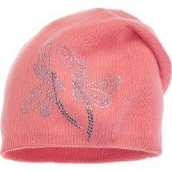 Różowa czapka z ważkami QUIOSQUE. Czerwone czapki i kapelusze damskie QUIOSQUE, z dzianiny. W wyprzedaży za 39.99 zł.