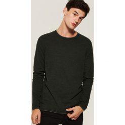 Sweter basic - Zielony. Zielone swetry przez głowę męskie House. Za 89.99 zł.