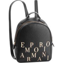 Plecak EMPORIO ARMANI - Y3L020 YH59A 80001 Nero. Czarne plecaki damskie Emporio Armani, ze skóry. Za 1,139.00 zł.