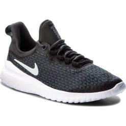 Buty NIKE - Renew Rival (GS) AH3469 001 Black/White/Anthracite. Czarne obuwie sportowe damskie Nike, z materiału. W wyprzedaży za 209.00 zł.