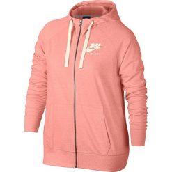 """Bluza """"Gym Vintage"""" w kolorze koralowym. Bluzy damskie Nike Women, z bawełny. W wyprzedaży za 152.95 zł."""