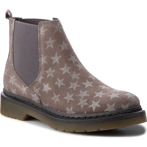 629210ee6c89f Sztyblety TAMARIS - 1-25433-30 Grey Star 209 - Botki damskie marki ...