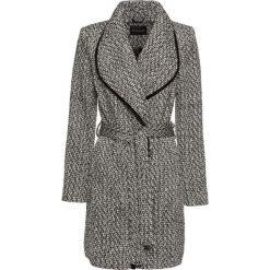 Płaszcz kopertowy bonprix czarno-biały wzorzysty. Płaszcze damskie marki FOUGANZA. Za 239.99 zł.