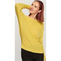 Sweter - Zielony. Zielone swetry damskie Reserved. Za 59.99 zł.