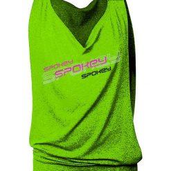 Spokey Koszulka damska luźna fitness trening zielona (839539). Bluzki damskie Spokey. Za 108.07 zł.