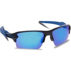 Okulary przeciwsłoneczne OAKLEY - Flak 2.0 Xl OO9188-23 Polished Black/Sapphire Iridium. Czarne okulary przeciwsłoneczne męskie Oakley, z tworzywa sztucznego. W wyprzedaży za 509.00 zł.