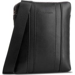 Saszetka CALVIN KLEIN - Essential Flat X-Over K40K421600  001. Czarne saszetki męskie Calvin Klein, ze skóry ekologicznej, młodzieżowe. Za 399.00 zł.