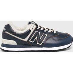 New Balance - Buty. Szare buty sportowe męskie New Balance, z materiału. Za 399.90 zł.