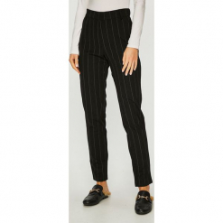 Jacqueline de Yong - Spodnie. Szare spodnie materiałowe damskie Jacqueline de Yong, z dzianiny. Za 119.90 zł.