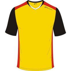 Spokey Koszulka piłkarska żółta r. M (837636). T-shirty i topy dla dziewczynek Spokey. Za 25.12 zł.