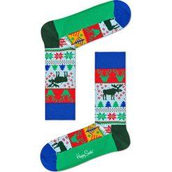 Happy Socks - Skarpety Renifer Christmas. Szare skarpety męskie Happy Socks. W wyprzedaży za 29.90 zł.