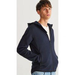 Bluza z kapturem - Granatowy. Niebieskie bluzy męskie Reserved. Za 119.99 zł.