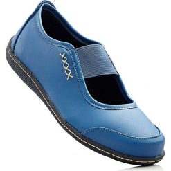 Baleriny bonprix niebieski dżins. Baleriny damskie marki NEWFEEL. Za 37.99 zł.