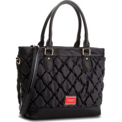 Torebka MONNARI - BAGB290-020 Black. Czarne torebki do ręki damskie Monnari, z materiału. W wyprzedaży za 199.00 zł.