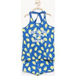 Piżama z szortami - Niebieski. Bielizna dla chłopców Reserved. Za 29.99 zł.